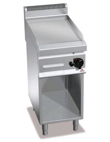 FRY-TOP GAS DE ACERO PLANCHA RµPIDA BERTOïS A400XF700XH900MM 6 KWS MOD G7FL4M